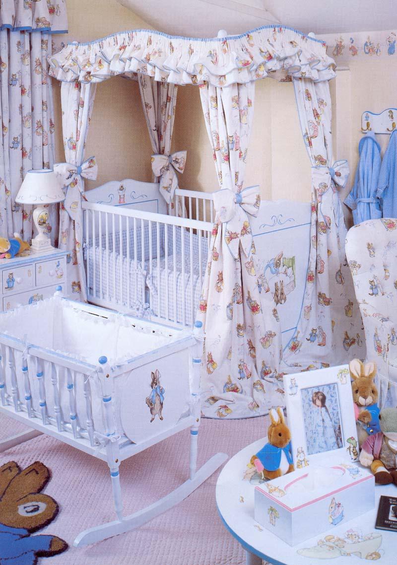Оформление детских кроваток своими руками фото